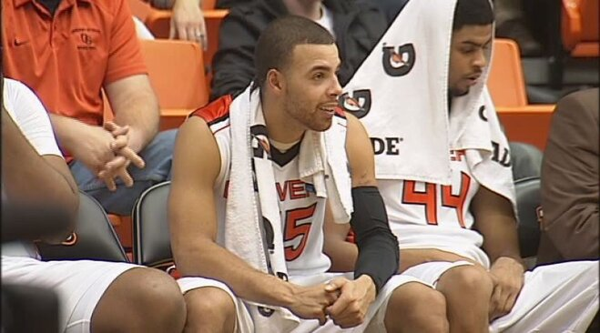 Nelson, Oregon State rip Grambling State 85-54