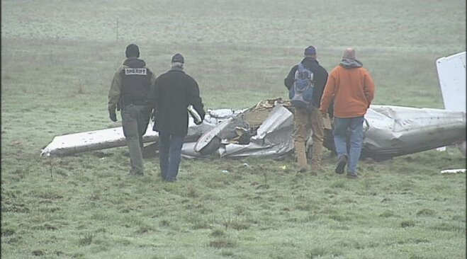 NTSB November 27 at scene of fatal plane crash (5)