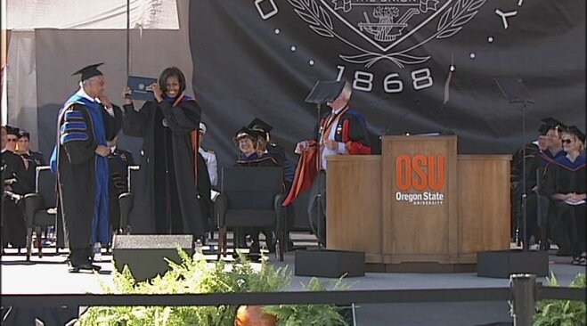 Oregon State Graduation 2012