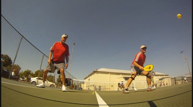'Picking up pickleball is pretty easy'