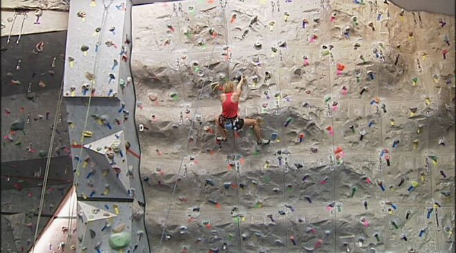 Women's Night at Crux Rock Gym is a hit