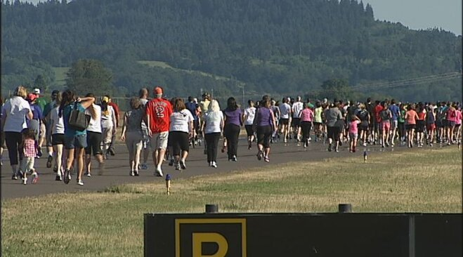 Runway 5K at Eugene Airport