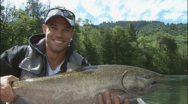 When he&#39;s not chasing the competition, Nick Symmonds catches fish