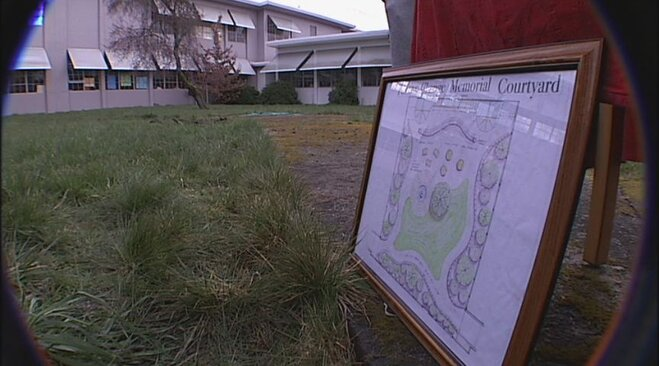 South Eugene High School students plan memorial garden