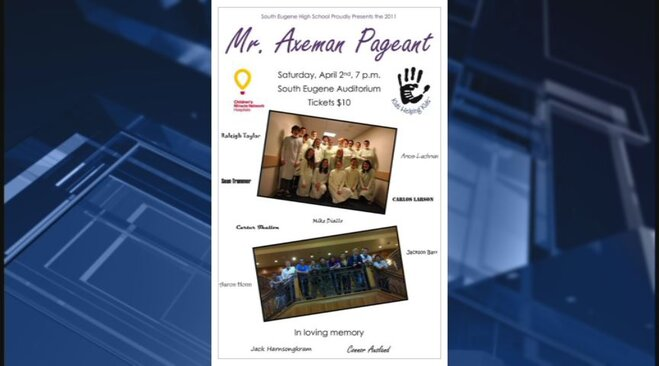 Mr. Axeman pageant honors drowned teens