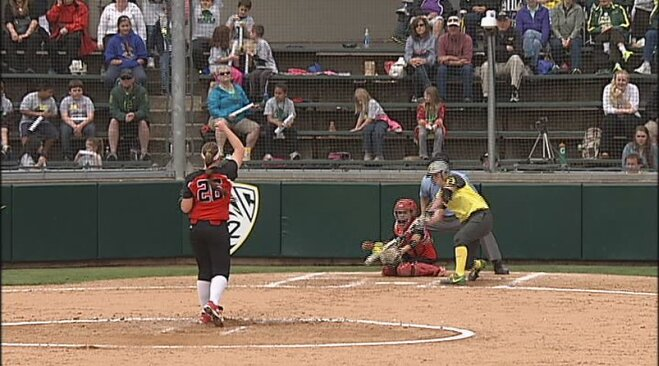 Duck softball earns No. 3 seed, will host regional