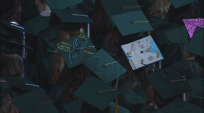University of Oregon Graduation 2012