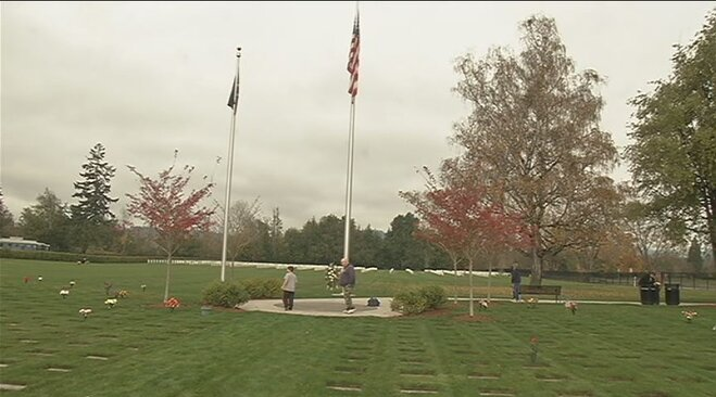 Veterans Day at Roseburg National Cemetery 2013 (3)