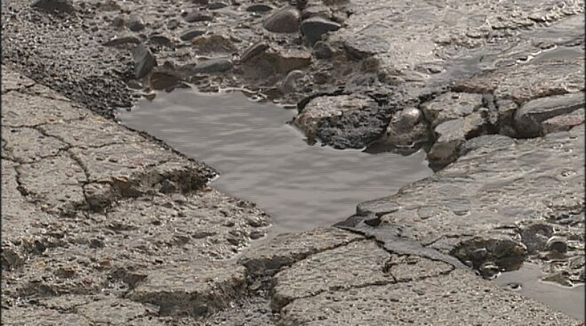 Weather whips up new crop of potholes (3)