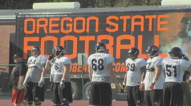 Alamo Bowl: Beavers hold final practice of 2012