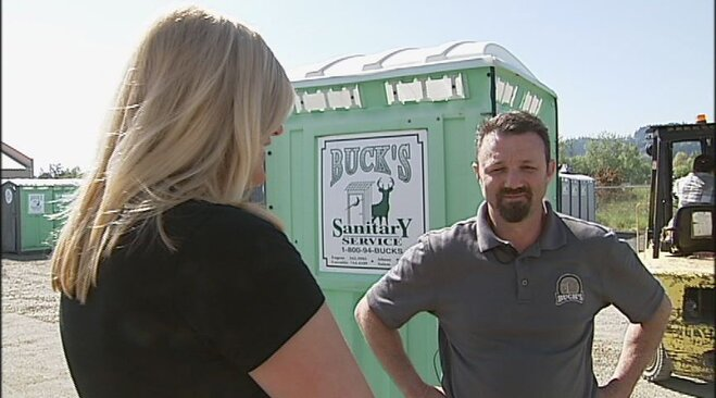 Dirtiest Jobs: Portable toilet cleaning