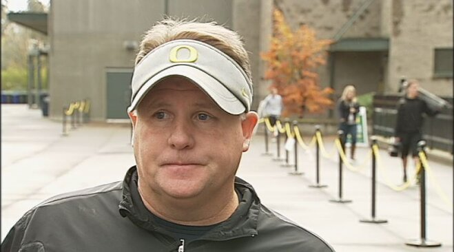 Video: Chip Kelly on No. 13 Stanford