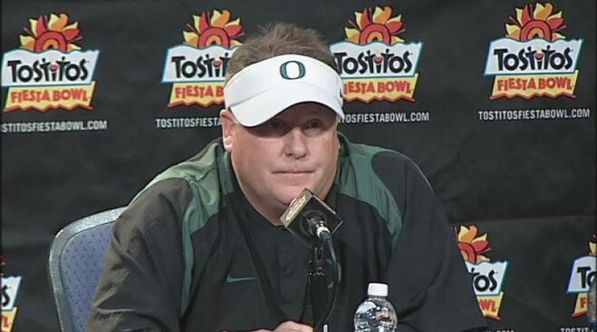 Video: Chip Kelly Fiesta Bowl postgame