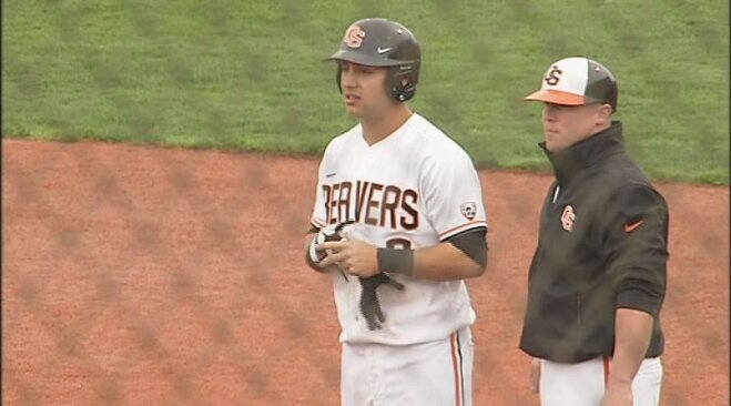 Conforto's 7 RBI lifts No. 6 Beavers to 12-0