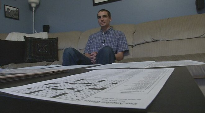 Cruciverbalist: 'People across the country are enjoying my puzzle'