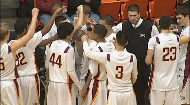 Crescent Valley pulls away late, beats Corvallis 48-42