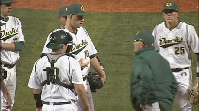 No. 15 Ducks see red, bull rush Matadors 12-4