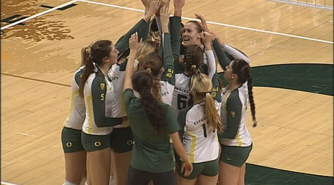 Ducks sweep Flyers, head to Sweet 16