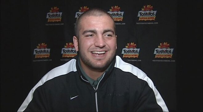 Video: Hroniss Grasu on Fiesta Bowl