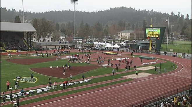 Video: Gardner digs deep for 400 meter victory at Oregon Preview