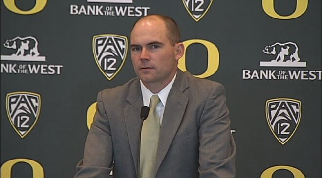 Video: Mark Helfrich introduced as Ducks head coach: Part 3