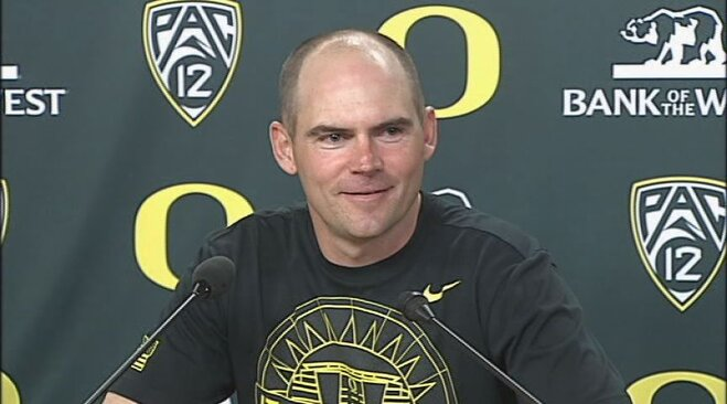 Video: Mark Helfrich after spring game