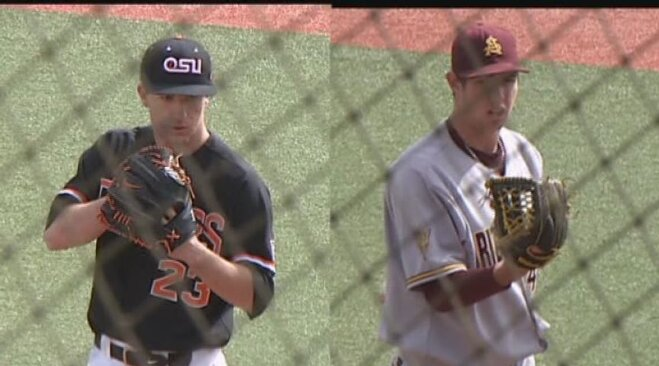 ASU's Kellogg no-hits No. 3 Beavers