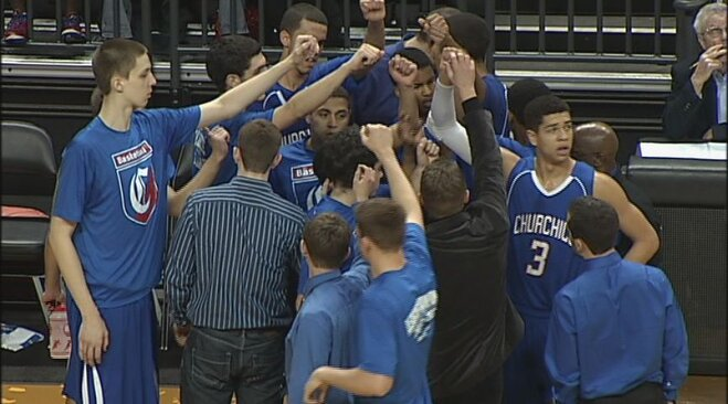 Shedrick and Morgan power Churchill boys into 5A semis