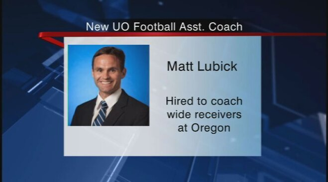 Ducks hire new wide receivers coach