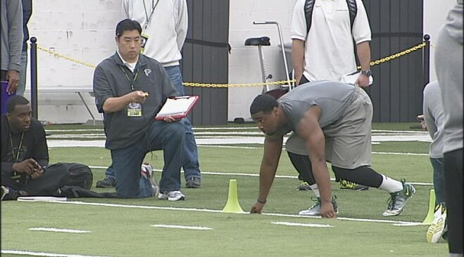Oregon Pro Day: Michael Clay