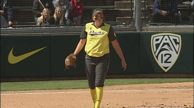 Hawkins no-hits Arizona, Ducks blank Wildcats 8-0