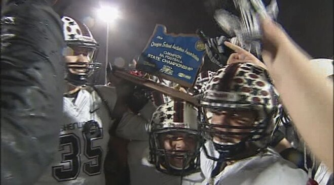 Sherwood beats Marist for second time in 2012, wins 5A crown