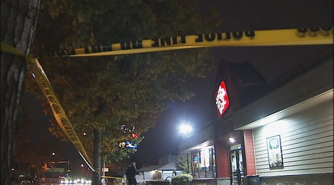 Man stabbed outside Jack in the Box