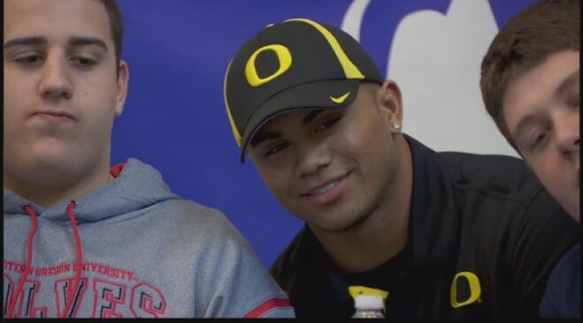 Thomas Tyner becomes a Duck