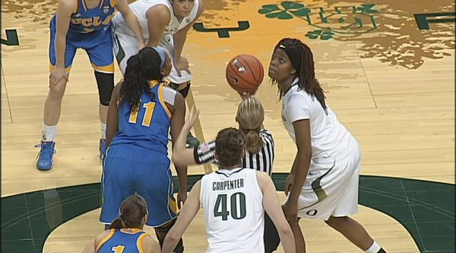 Nyingifa leads No. 16 UCLA women over Oregon 89-80
