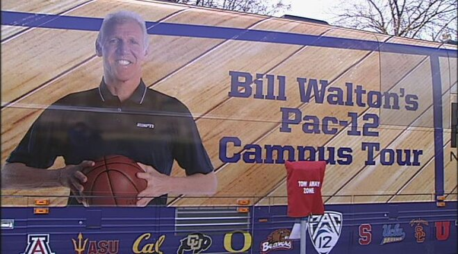 What A Long Strange Trip: Bill Walton's bus tour hits UO