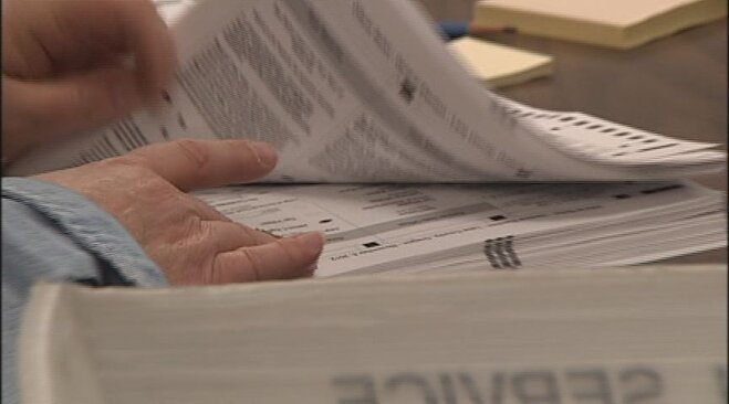 Write-in ballot count: 'Fictitious characters will be tallied'