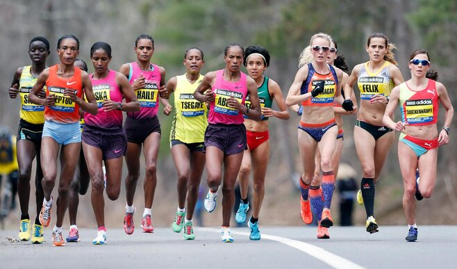 Ethiopia's Desisa, Kenya's Jeptoo win in Boston