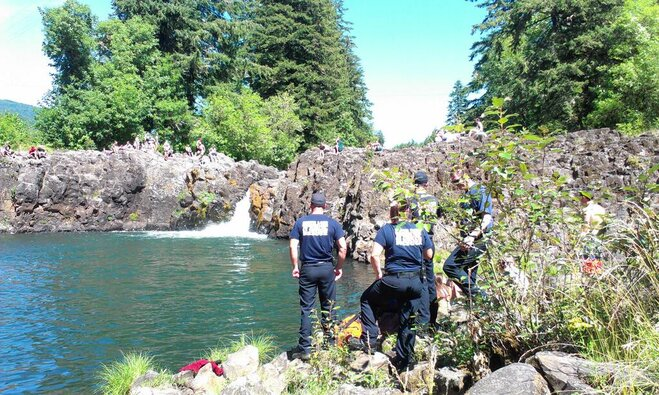Teen dies trying to help younger brother at Wildwood Falls