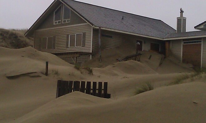 Waldport sand March 5