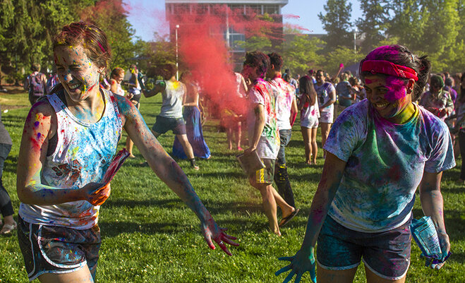 University of Oregon Holi Festival 2014 (10)