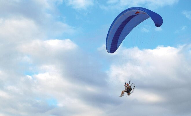 Oregon Paraglider