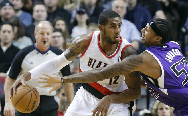 Kings Trail Blazers Basketball