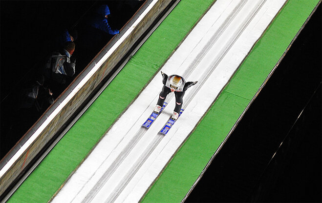APTOPIX Poland Ski Jumping World Cup