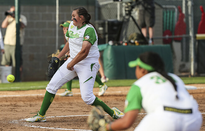 Oregon softball drops first series game to Arizona State, 4-2