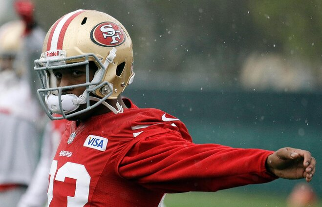 Super Bowl XLVII: James goes from spectator to contributor for 49ers