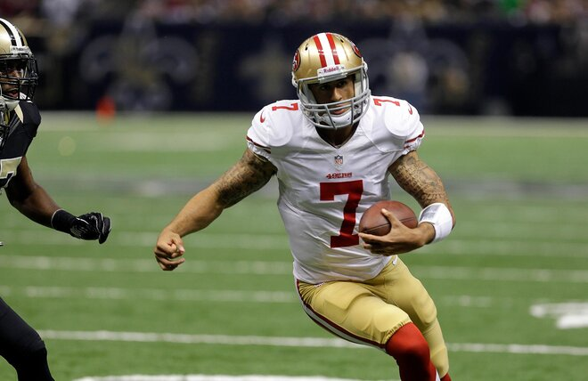 Kaepernick, 49ers defense win in the Superdome