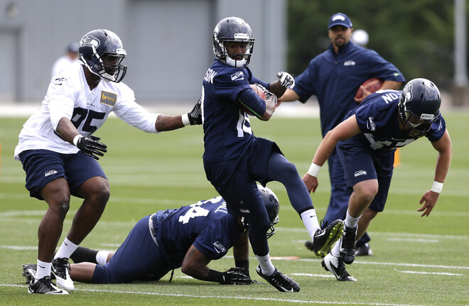 Seahawks FB Small takes long road to NFL