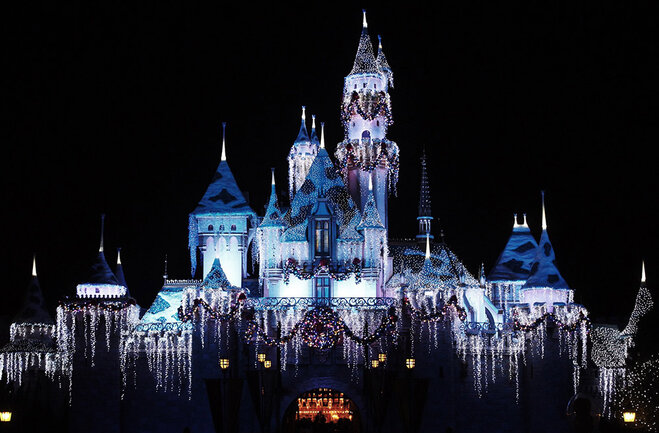 Winter in Disneyland truly is magical