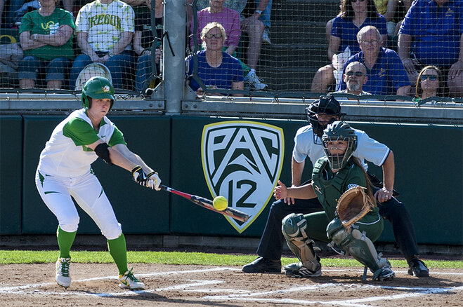 Ducks beat Utah Valley 12-1